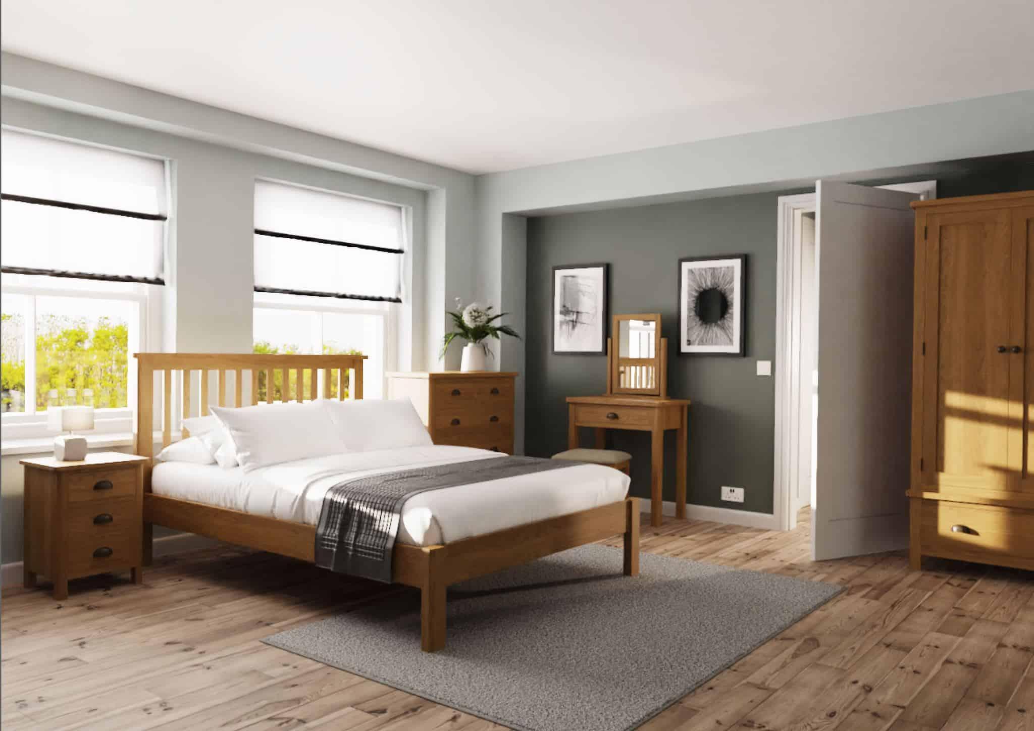 ki19 100d bedroom roomset