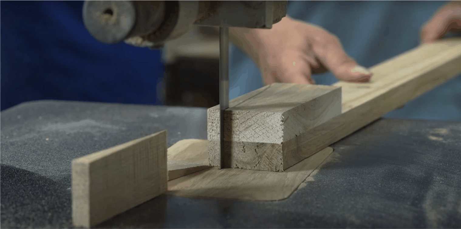 component part cutting